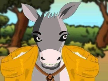 Short-Moral-Stories-The-Foolish-Donkey