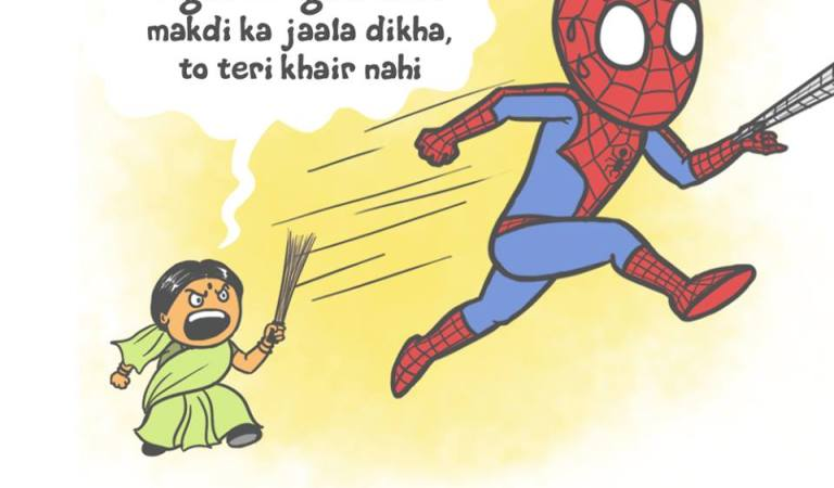 If Superheroes had Indian Moms