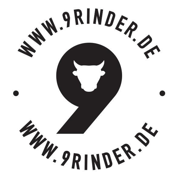 Hallo Ihr! Wie gefällt Euch unser neues Logo? Die 9Rinder aus Passau haben seit Oktober 2019 ein neues Marken-Branding. Besucht uns doch mal in der Passauer Grabengasse oder Ihr stöbert weiter auf 9rinder.de :-) Wir freuen uns auf Euch - Eure 9Rinder!