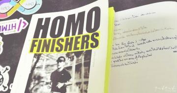 คำคมหนังสือ Homo Finishers - นิ้วกลม 3