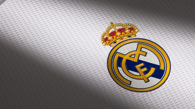photo real madrid will play with new logo on their shirt tomorrow