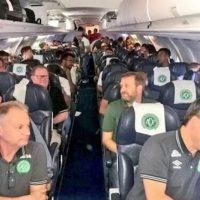 Plane crashes with Brazilian players inside (Photo)