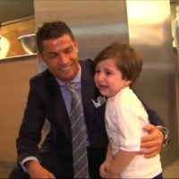 Ronaldo shows a big human personality!