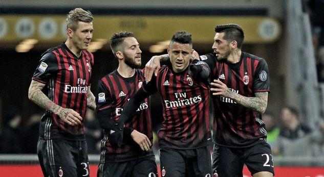 Watch: two AC Milan rising stars combine to put Italy U21 ahead