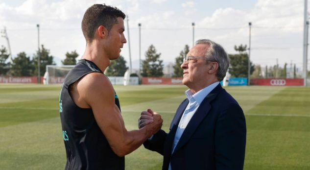 Cristiano Ronaldo wants to meet Florentino Perez for one reason