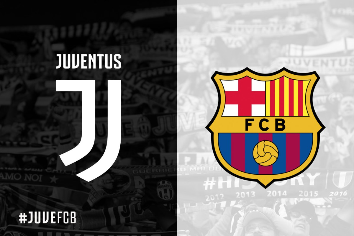 Official Formations Juventus Vs Barcelona