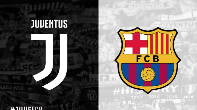 The Official Formations For The Match Between Juventus Barcelona