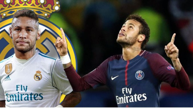 Neymar naar Real Madrid