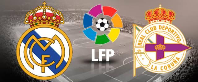 LIVE: Real Madrid - Deportivo La Coruna