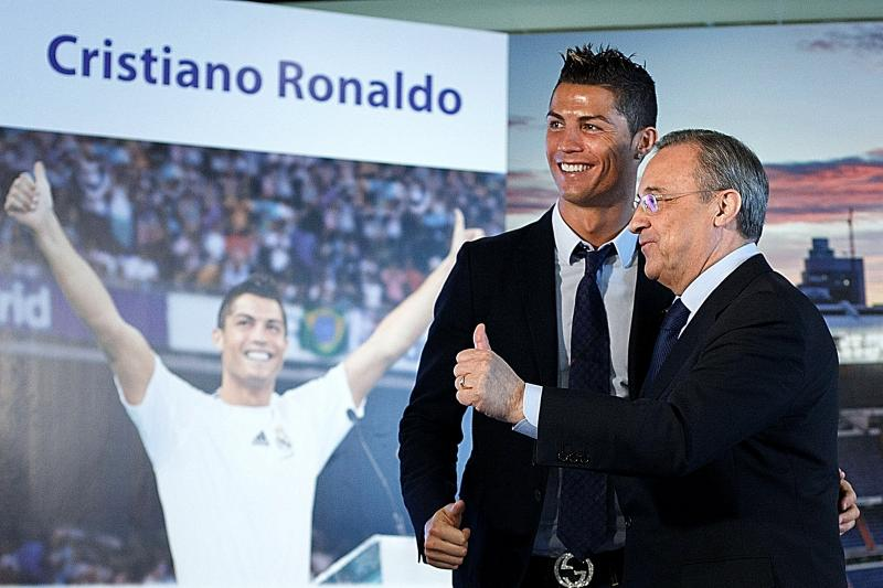 'Madrid will always be his home', Florentino says Ronaldo 'left for personal reasons