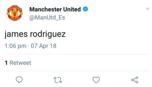Man Utd delete mystery tweet on official account involving