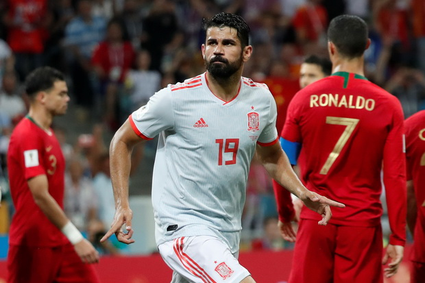 Costa: Wish I was like Ronaldo
