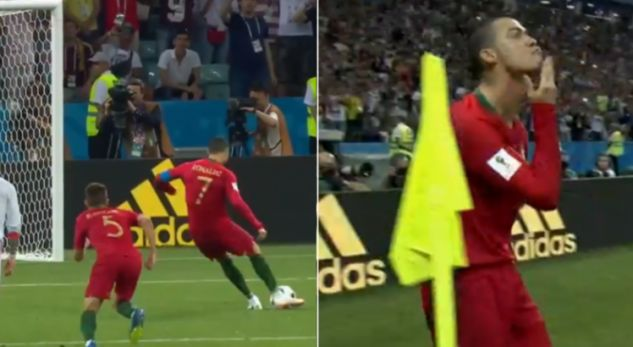 Revealed: The meaning of Ronaldo gesture after scoring the first goal!
