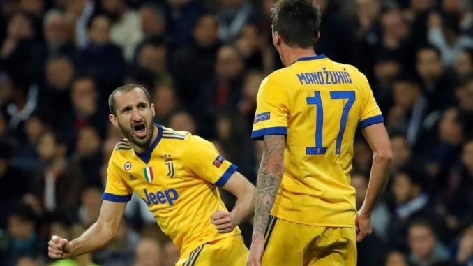 Mandzukic Chiellini Out Of Juventus Squad To Face Ajax Can