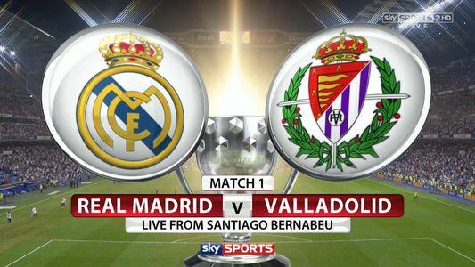 Live Real Madrid Vs Valladolid 2018 La Liga