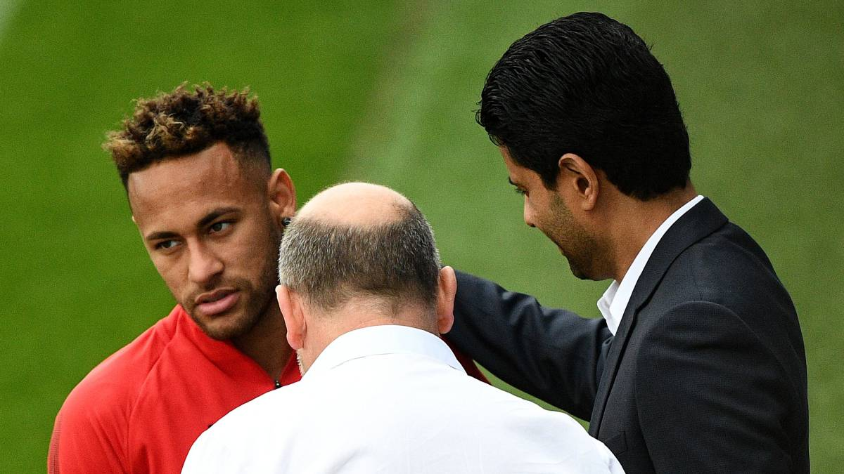Neymar confronts PSG president amid Dani Alves dispute