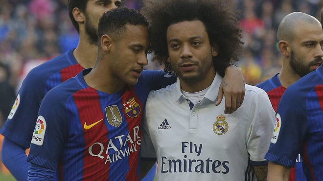 Hasil gambar untuk Marcelo dan Neymar