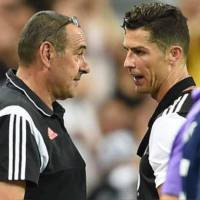 Sarri confirms Ronaldo out of Atalanta clash