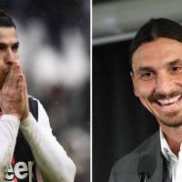 Zlatan: There's only one Ronaldo and he's Brazilian