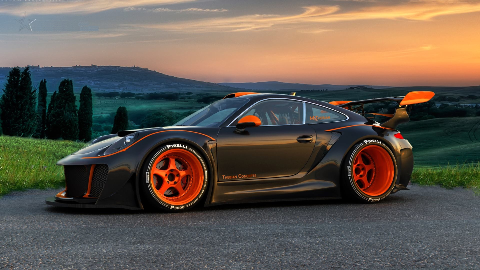 Porsche 911 Car HD 1920x1080 Wallpaper My Site