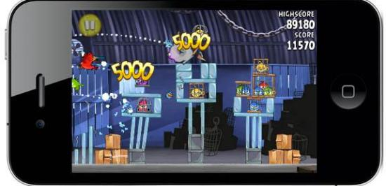 angry birds rio on iphone