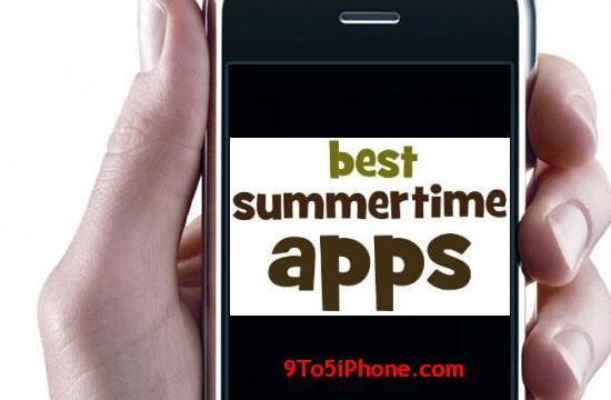 summertime apps for iphone