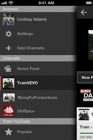 youtube official app iphone