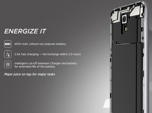 Lenovo ZUK Z1_battery