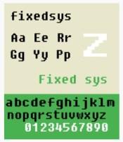 Fixedsys