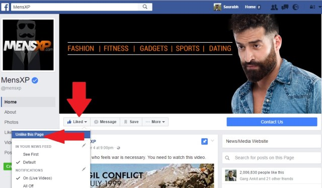unfollow-a-facebook-page