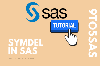 Symdel in SAS