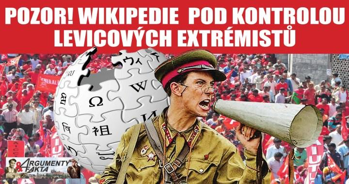 MIMOŘÁDNÁ ZPRÁVA: Wikipedie je pod kontrolou levicových aktivistů? Píší pod pseudonymy a odkazují na extrémistické autory