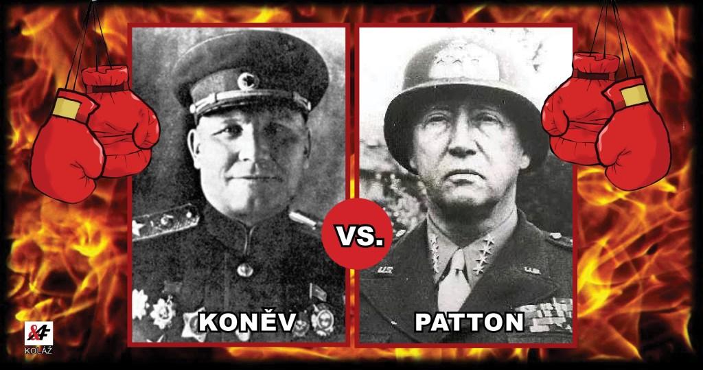 Souboj týdne: Koněv vs. Patton. Dvě unikátní rozhlasové nahrávky proti sobě. Osvobodili Američané Plzeň lépe, než Rudá armáda Prahu? V boji, ehm, nepadl ani jeden Američan…