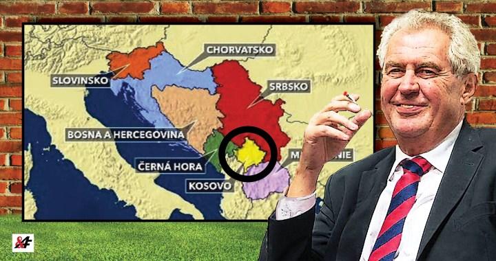Nechme Kosovi, co je Kosovo? Vstřícný krok prezidenta Zemana vůči Srbsku: Geniální! Spokojené Srbsko je víc, než natvrdlý Petříček. Dáváme 80 procent, že Zeman uspěje.