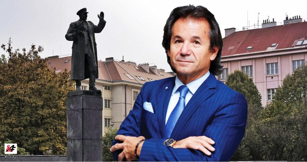 VIDEO. Pomník maršála Koněva: Bývalý šéf vojenské rozvědky a historik Andor Šándor je pro zachování sochy.  Problém není Koněv, ale vedení Prahy 6.