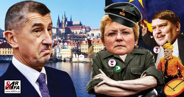 Trestní komando Evropské unie (Německa) pod vedením Frau Hohlmeierové vyšetřuje v Praze premiéra Babiše. Hrozí mu deset let vězení a miliardové pokuty