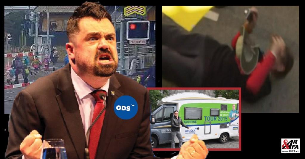 Extremista Novotný (ODS) z Řeporyjí: Video s dětmi na přejezdu – Učitelky jsou v tom nevinně! Za to on se musel vyplatit z vězení za těžké ublížení na zdraví…