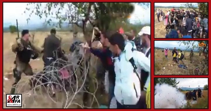 Právě teď: Děs! Tisíce migrantů prolamují turecko – řeckou hranici a pronikají do Evropy. VIDEO ze kterého mrazí. Střety s policií. Obušky. Střelba. Výbuchy. Slzný plyn. Dalších 100 tisíc čeká na svou šanci. Média mlčí