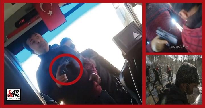 Ve stínu koronaviru: Turci nutí migranty se zbraní v ruce útočit na řeckou hranici. VIDEO jako důkaz. Agresivní akce, ale již také první náznaky řeckého vítězství