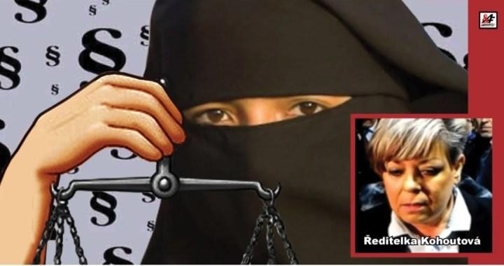 """Škola, nebo mešita? Muslimka stáhla žalobu kvůli hidžábu, ale ředitelka školy chce pokračovat. Peprné a přesné výroky advokáta: """"Je to politický proces v režii pokřivené aktivistky Šabatové. Neziskovkám je třeba říci DOST!"""""""