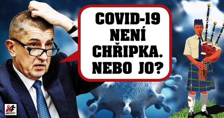 """""""Čau lidi, COVID-19 není chřipka, říkali to ve Skotsku"""". Premiér Babiš jako důkaz ukázal studii, podle které COVID-19 zkracuje život o 10 let. Máme tu studii – a výsledek je šokující"""
