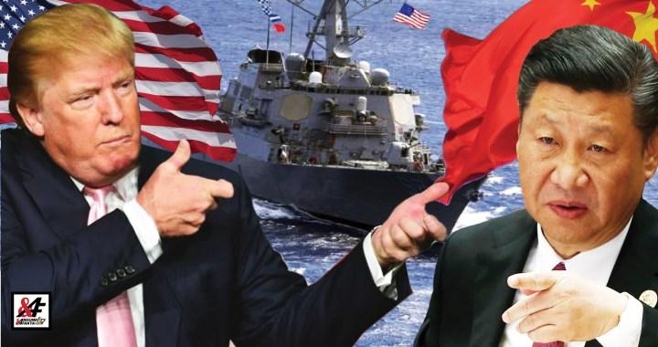 Ve stínu koronaviru: Válka je blízko! Napětí mezi USA a Čína roste. Americký torpédoborec teď narušil čínské území. Čína hrozí odvetou. Unikla zpráva, v níž Peking počítá s možností válečného konfliktu