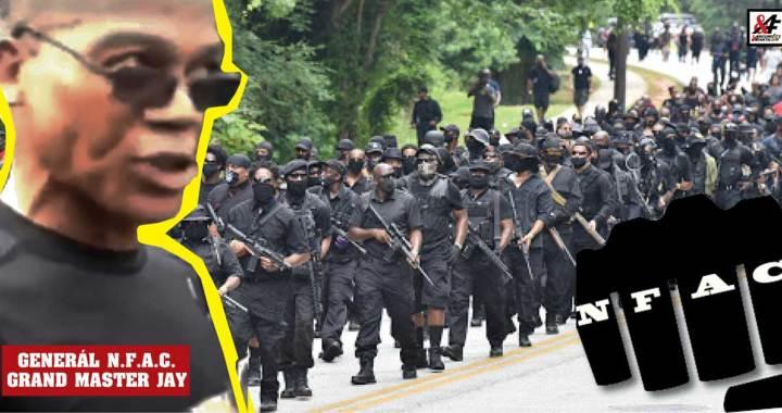 """Vůdce radikální armády černochů v USA: """"Kdo na nás zaútočí, toho zabijeme."""" """"Chceme vlastní stát. Chceme půdu. Je nás 45 milionů a budeme bojovat."""""""