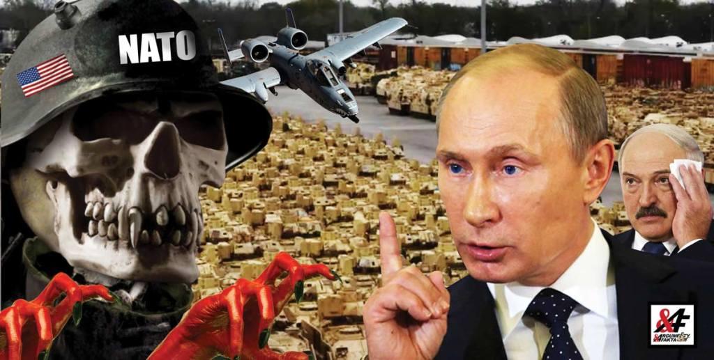Agresivní manévry NATO nejen u běloruských hranic. III. světová válka nikdy nebyla tak blízko. Stovky tanků USA míří na ruského spojence. Bombardéry nad Evropou – a média mlčí. Putin pod tlakem