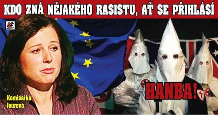 """Jourová se vymkla kontrole! Přichází """"Protirasistická policie"""" a tresty pro tzv. """"rasisty"""". Znáte nějakého? Evropská komise přijme víc černochů do svých řad. Uršula má problém s barvou pleti"""
