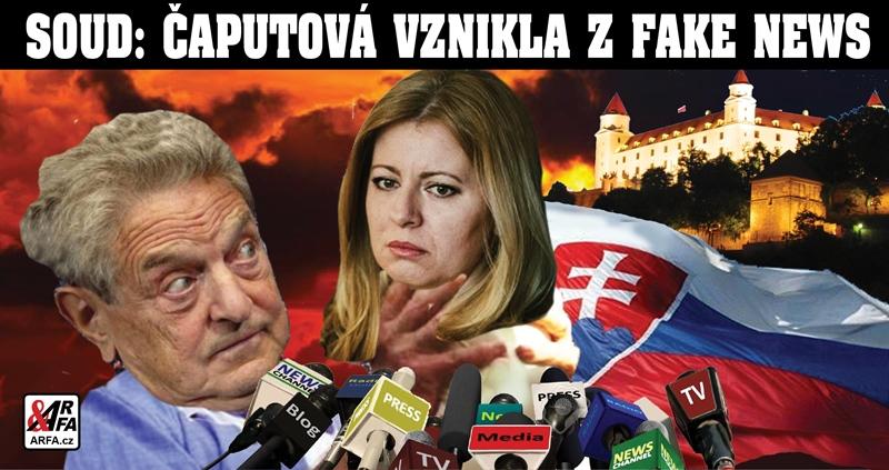 A je to venku! Prezidentka Čaputová je produkt Fake News! Soud rozhodl jasně – Kauza vraždy novináře je nechutná mediální fikce. Zde jsou důvody proč