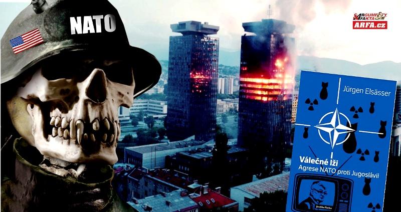 """Zakázaná kniha """"Válečné lži"""" o NATO a jeho masakrech v Jugoslávii: Distributor v roli samozvaného cenzora. """"NATO je pro sluníčkáře jako Mohamed pro muslimy,"""" říká vydavatel knihy Pavel Křivka v rozhovoru pro Arfa.cz"""