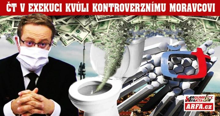 Daň za nabubřelost: Česká televize je v exekuci kvůli kontroverznímu pořadu Otázky Václava Moravce. Protiprávní jednání a statisícové pokuty z peněz daňových poplatníků