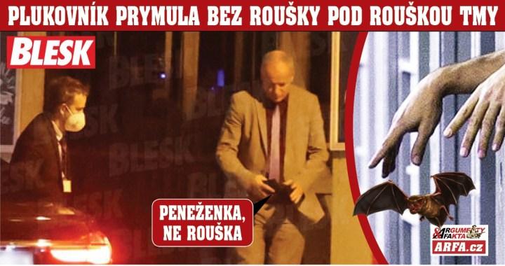 """Ministr Prymula přistižen bez roušky: """"Rezignovat nehodlám!"""" Je větší ryba, než Babiš? Miliardový byznys s vakcínami nechce potíže… Zlomený premiér teď stojí proti prezidentu Zemanovi. Napadne ho řešení s hlavou v pytli? Jedno máme…"""