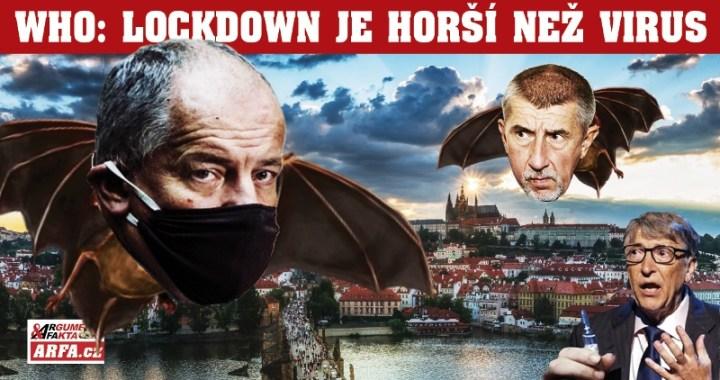 """""""Lockdown je větší zlo než virus!"""" apeluje Světová zdravotnická organizace (WHO), která vyhlásila údajnou pandemii. Česká republika na prahu nejvíc totalitního zásahu do práv a svobod od konce II. světové války."""